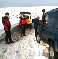 HELP AT HAND: Oldham Mountain Rescue saved stranded drivers