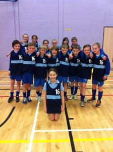 ATHLETICS...Saddleworth School's triumphant year seven team