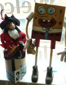 VILLAIN OR HERO: Captain Hook and Sponge Bob Square Pants