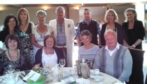 ALL SMILES: Jennifer and chums raised over £1,400 from their afternoon tea