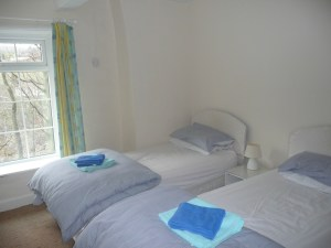COMFY: One of the DIggle's four bedrooms