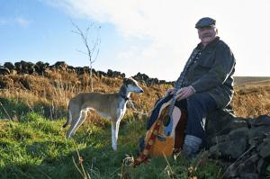 INSPIRED: Martin on the moors