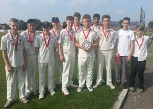 HOWZAT....the year 10 Oldham schools' champions.
