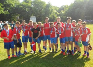 NEARLY MEN...the year eight side which were beaten finalists.