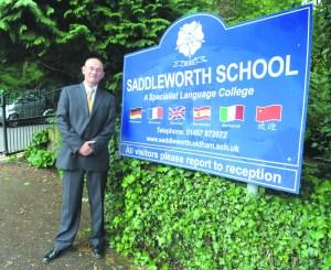 P1 Saddleworth school head Matthew Milburn