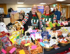 Carol Jackson and Tracey Schofield from Addisons in Lees