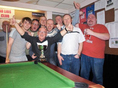 Blazing Rag, second division chance cup winners
