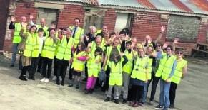 Bright Futures kids at new 'school'