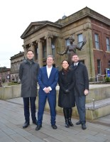 Labour leader contender Sir Keir Starmer praises 'community energy' on visit to Oldham