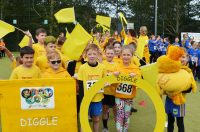Bright opening ceremony gets 34th Saddleworth Village Olympics off its marks