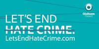 Oldham helps raise awareness of hate crime