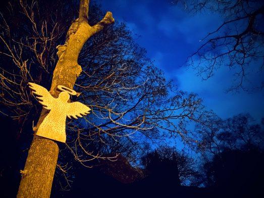 Angel at Denshaw Christ Church