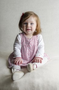 Eleanor Catherine: She's a proper cheeky monkey who loves lots of cuddles