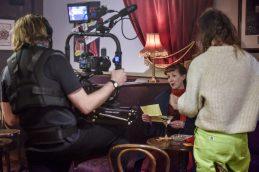 Filmmaker Grant Archer, Victoria Brazier and Creative Producer Alice Barber