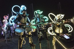 Global Grooves will lead the Parade of Illumination from Gallery Oldham to the Old Town Hall