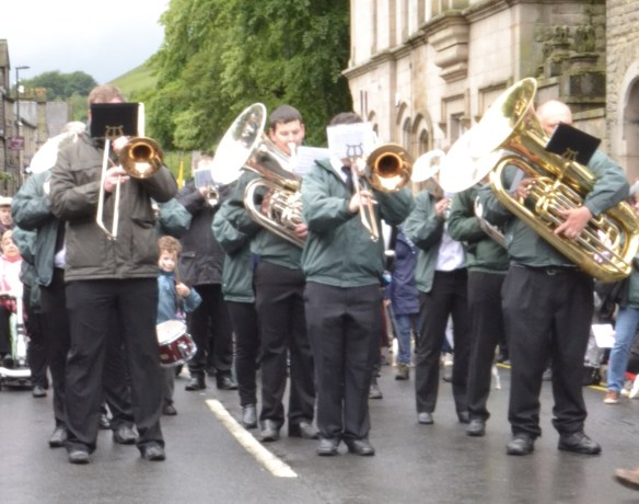 Greenfield Band on Uppermill High Street