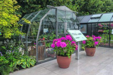 Hartley semi dodecagon Greenhouse