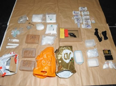 Harrison drugs haul