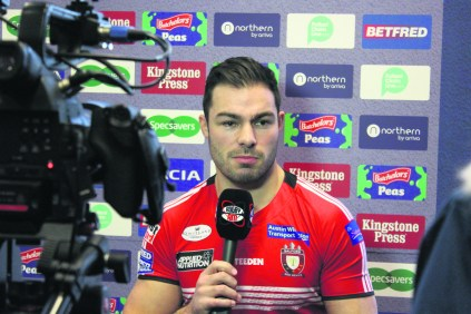Salford Red Devils' loose forward, Mark Flanagan will feature in the event
