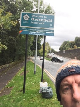 Greenfield (Trevor Baxter just missing out on a selfie)
