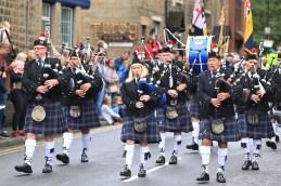Oldham Bandsmen in the parade