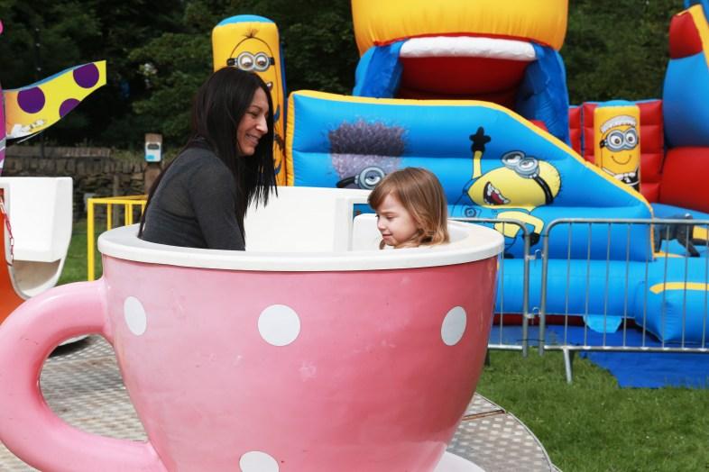 Visitors enjoying the Saddleworth Show last year