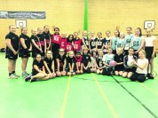 Teams from St Paul's, Firwood Manor, Holy Trinity Dobcross and St Mary's, Greenfield