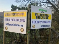 Wellifest and Saddleworth Show cancelled