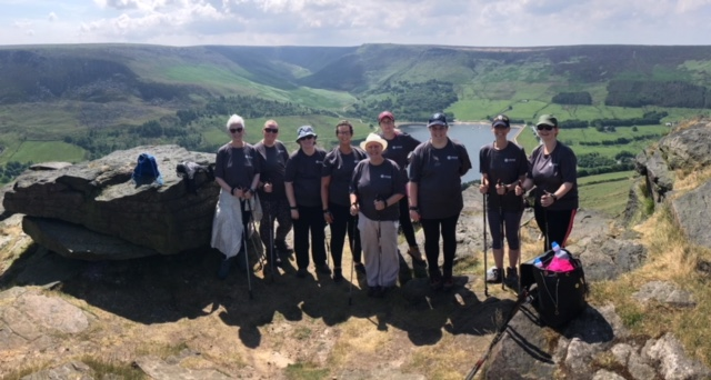 The ladies achieving reaching the top