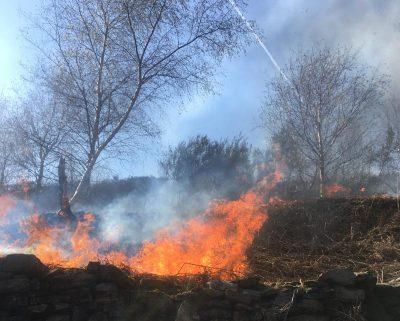 Uppermill CEmetery fire (1)