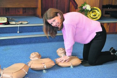 catherine johnson CPR