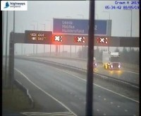 M62 closed following two serious incidents