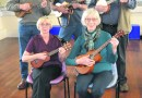 Uke-can-do-it at the Satellite Centre