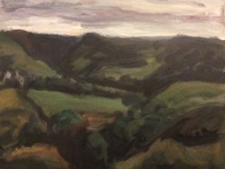 Chew Valley from Heights by David Oag