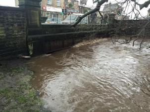 River Tame in Uppermill (picture thanks to Nick Watts)