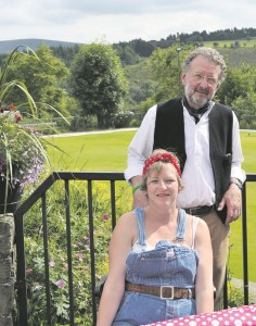 vintage fete pam rose and paul clegg