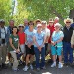 SaddleBrooke Nature Club members on the San Pedro River field trip