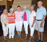 First Place Winners: Pauline Guarino, Chris McFadden, Sharon Wyles, Julie Brown, Winnie Clay and Buck Wyles
