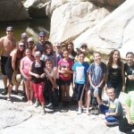 Five/Six classes hike to the Romero Pools in Catalina State Park.