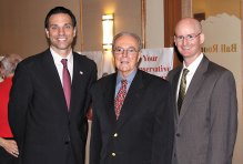 Steve Smith, Wayne Larroque and Scott Bartle