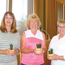 Martha Young, Maureen Breheim and Gayle Heaton