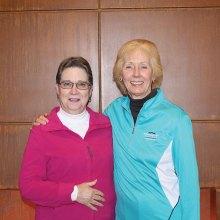 From left: MPLN Team Kay Tomaszek and Deborah Bunker