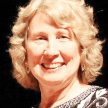 Linda Griffin will conduct her last season as Director of the SaddleBrooke Singers; photo taken by Jim Van Brocklin.