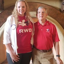 RWB members Kristin Trapp and Emerson Knowles