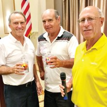 Left to right: Al Bolty, Bruce Fink and David Cohen