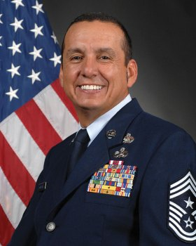 162nd Wing Command Chief Master Sergeant Armando Gonzales
