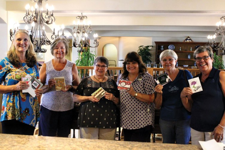 Left to right: Cheri Utsler, Carol Ratza, Lonnie Treat, Leanne Bourgois - Director of Sales and Marketing for Amber Lights, Abbie Egolf and Carol Thompson