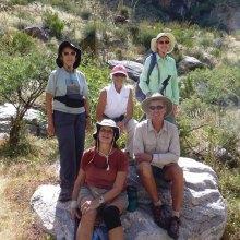 Standing: Elisabeth Wheeler, Sandra Sowell, Susan Hollis; sitting: Janet Fabio, Norm Rechhemmer