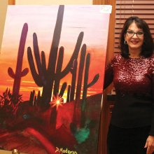 Speaker Diana Madaras is active with philanthropic causes in Tucson.