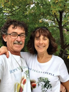 The Happy Vegan Couple, Denise Rose and Georgie Campas